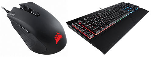 Corsair Harpoon RGB Mouse and K55 RGB Keyboard